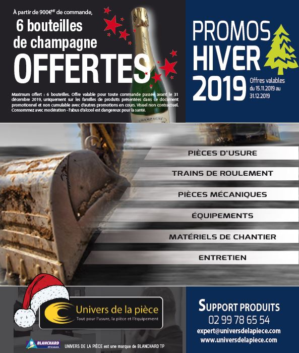 Promotions Hiver 2019